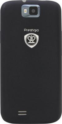 Смартфон Prestigio MultiPhone 4055 DUO (черный) - вид сзади