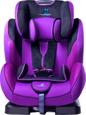 Автокресло Caretero Diablo XL (фиолетовый) - вид спереди