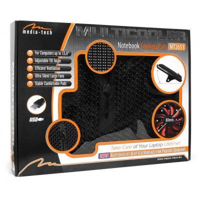 Подставка для ноутбука Media-Tech Multicooler MT2653 - упаковка