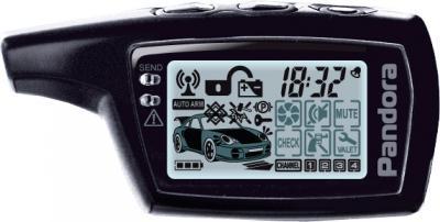 Автосигнализация Pandora  DXL 3000 - брелок с двусторонней связью