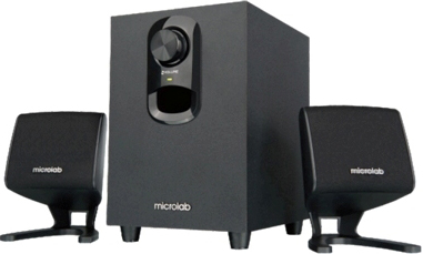 Мультимедиа акустика Microlab M 108 (черный) - общий вид