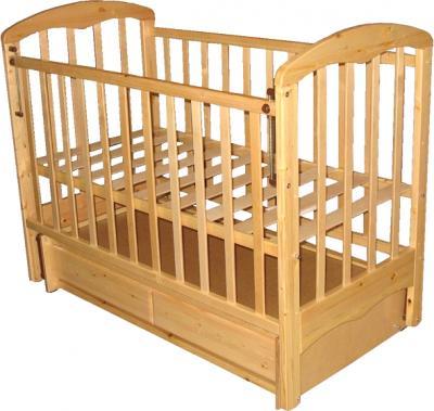 Детская кроватка РИО Виктория (Натуральный цвет) - общий вид