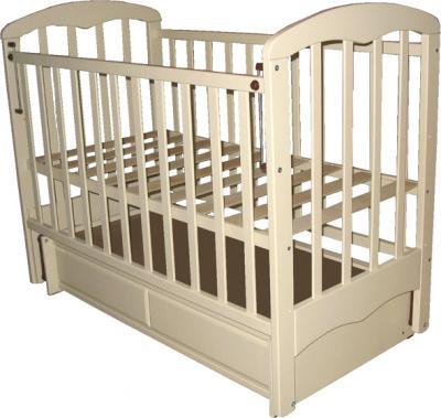 Детская кроватка РИО Виктория (Слоновая кость) - общий вид
