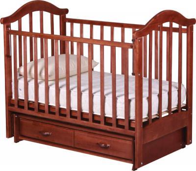 Детская кроватка РИО Виктория-2 м (Вишня)