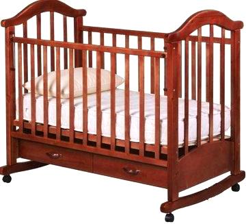 Детская кроватка РИО Виктория-2 кш (Вишня) - общий вид