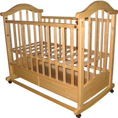 Детская кроватка РИО Виктория-2 кш (Натуральный цвет) - общий вид