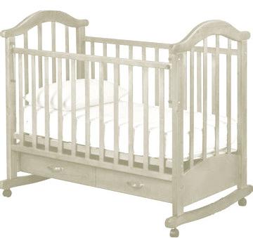 Детская кроватка РИО Виктория-2 кш (Слоновая кость) - общий вид