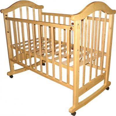 Детская кроватка РИО Виктория-2 к (Натуральный цвет) - общий вид