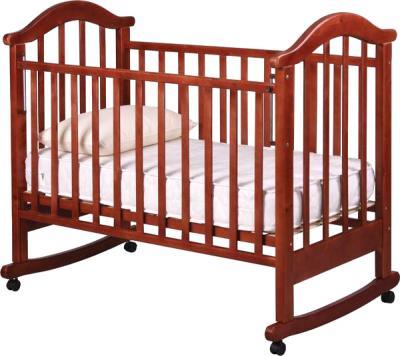 Детская кроватка РИО Виктория-2 к (Вишня) - общий вид