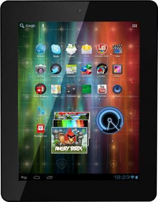 Планшет Prestigio MultiPad 2 8.0 Ultra Duo 3G (PMP7280C3G_BK_DUO) 8GB - фронтальный вид