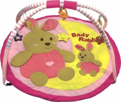 Игровой коврик Baby Mix ТК/3168С (кролик) - общий вид