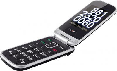 Мобильный телефон TeXet TM-B415 Black - общий вид