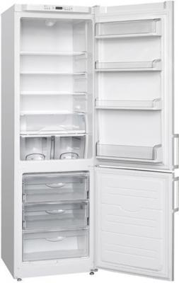 Холодильник с морозильником ATLANT ХМ 6324-181 - с открытой дверью