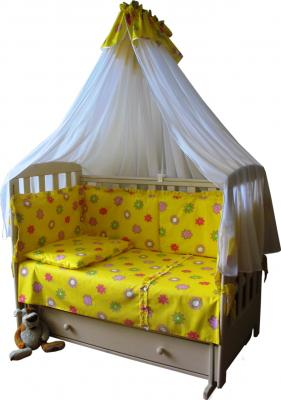 Комплект в кроватку Ночка Солнышко 7 - общий вид