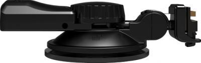 """Автомобильный видеорегистратор TeXet DVR-5GP - крепление """"Easy-Touch"""" с GPS-антенной (вид сбоку)"""