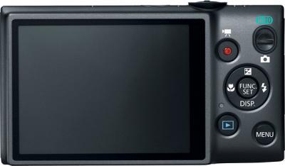 Компактный фотоаппарат Canon IXUS 133 Black - вид сзади