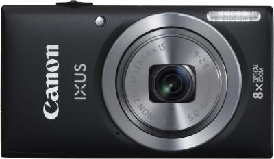 Компактный фотоаппарат Canon IXUS 133 Black - общий вид