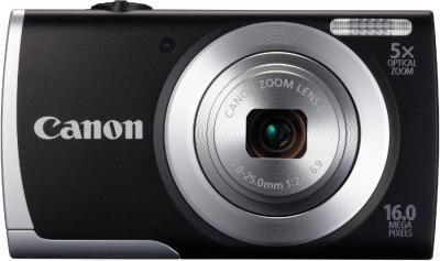 Компактный фотоаппарат Canon PowerShot A2550 Black - общий вид