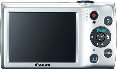 Компактный фотоаппарат Canon PowerShot A2550 Black - вид сзади