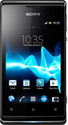 Смартфон Sony Xperia E / C1505 (черный) - общий вид