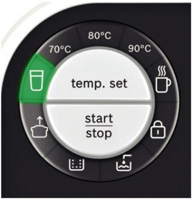 Термопот Bosch THD 2021 - панель управления