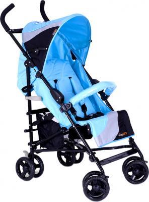 Детская прогулочная коляска EasyGo Holiday Blue - общий вид