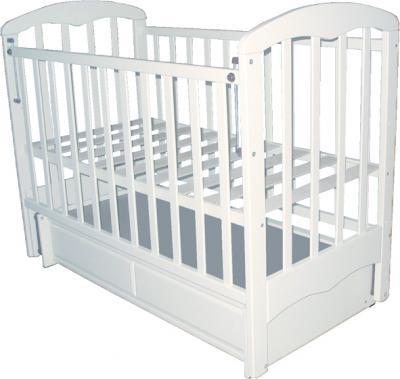 Детская кроватка РИО Виктория (Белая) - общий вид