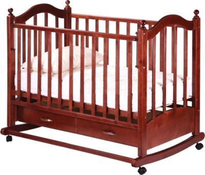 Детская кроватка РИО Джулия (Вишня) - общий вид