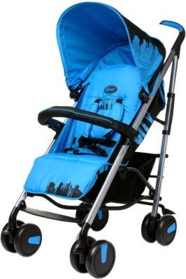 Детская прогулочная коляска 4Baby City (синий) - общий вид