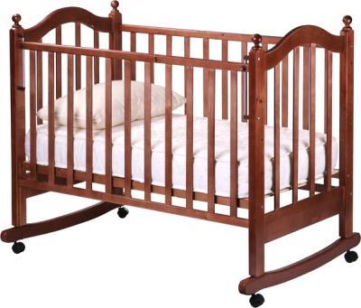 Детская кроватка РИО Вероника (Орех)