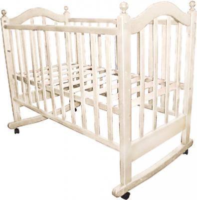 Детская кроватка РИО Вероника (Слоновая кость) - общий вид