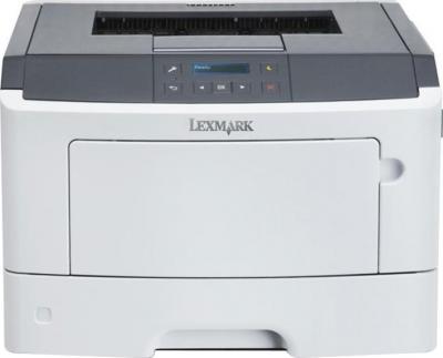 Принтер Lexmark MS410dn - фронтальный вид