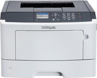Принтер Lexmark MS510dn - фронтальный вид
