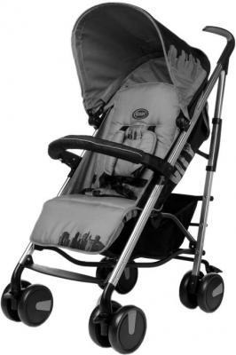 Детская прогулочная коляска 4Baby City (серый) - общий вид