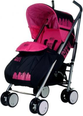 Детская прогулочная коляска 4Baby City (розовый) - общий вид