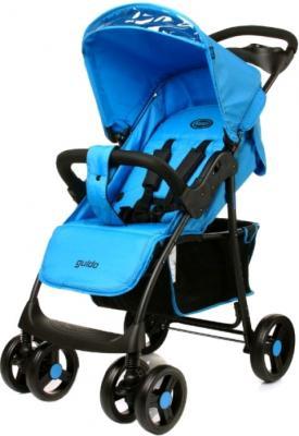 Детская прогулочная коляска 4Baby Guido (синий) - общий вид