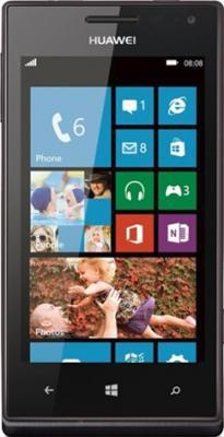 Смартфон Huawei Ascend W1 Black - общий вид