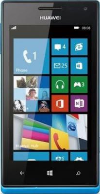 Смартфон Huawei Ascend W1 Blue - общий вид