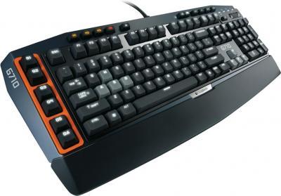 Клавиатура Logitech G710 (920-005707) - вид сбоку