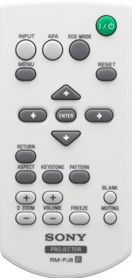 Проектор Sony VPL-EW225 - пульт ДУ