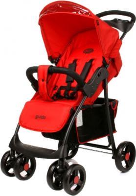 Детская прогулочная коляска 4Baby Guido (красный) - общий вид