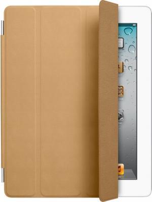 Чехол для планшета Apple iPad Smart Cover Tan (MC948ZM/A) - вид спереди