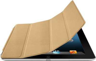 Чехол для планшета Apple iPad Smart Cover Tan (MC948ZM/A) - гибкая обложка