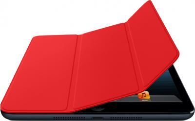 Чехол для планшета Apple iPad Mini Smart Cover Red (MD828ZM/A) - гибкая обложка