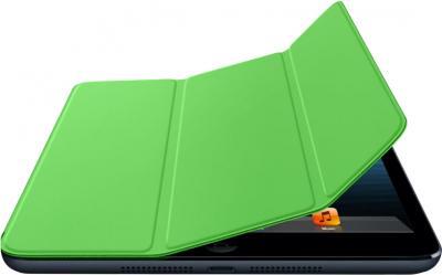 Чехол для планшета Apple iPad Mini Smart Cover MD969ZM/A (зеленый) - гибкая обложка