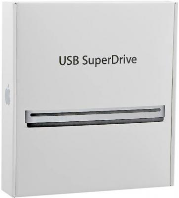 Оптический привод Apple USB SuperDrive (MD564ZM/A) - коробка
