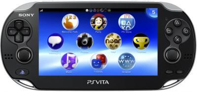 Игровая приставка Sony PlayStation Vita - спереди