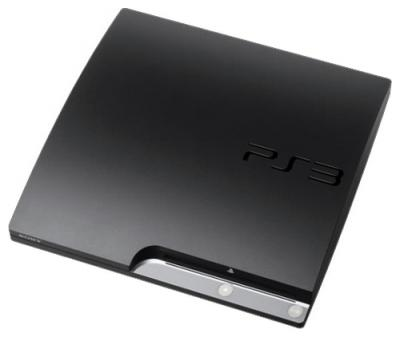 Игровая приставка Sony Playstation 3 160 GB 3008/Base Black - общий вид