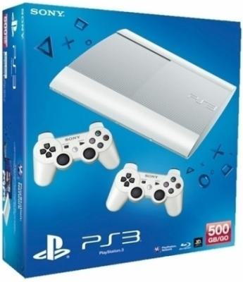Игровая приставка Sony Playstation 3 500GB/White/Dualshock