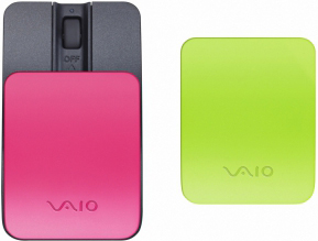 Мышь Sony VGPBMS15/P Pink - общий вид